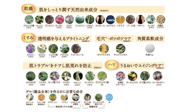 炭酸オレンジフェイシャル成分/新宿・代々木・初台のアロマオイルを使った女性専用リラクゼーション・マッサージサロン