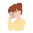 眼精疲労と頭痛